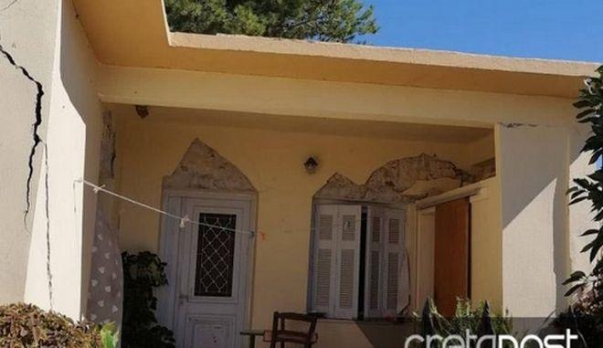 Σεισμός στην Κρήτη: Καταστράφηκε ένα ολόκληρο χωριό