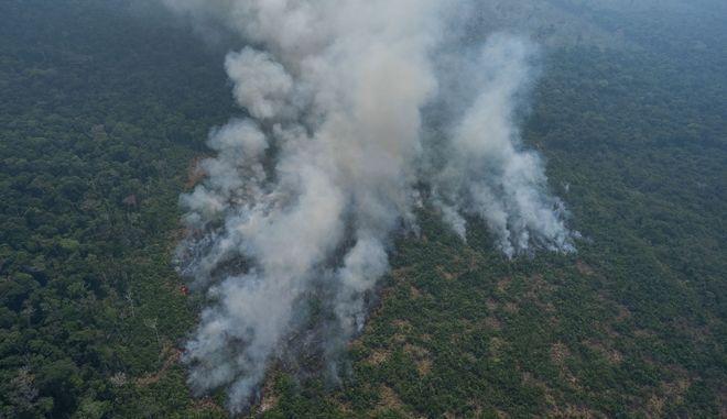 Φωτιά στον Αμαζόνιο (ΦΩΤΟ ΑΡΧΕΙΟΥ)