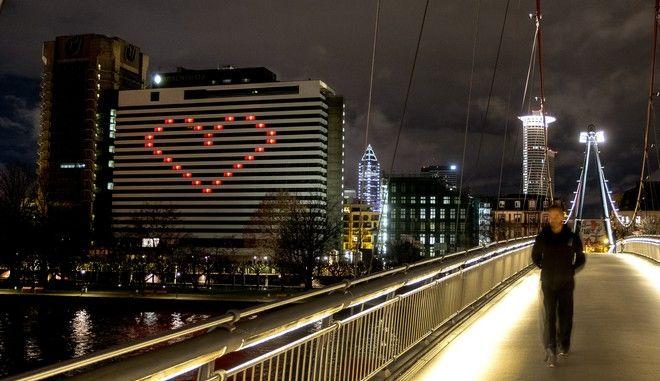 Σχέδιο καρδιά σε ξενοδοχείο στη Γερμανία εν μέσω Lockdown