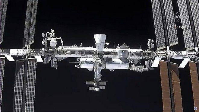 Ο πύραυλος της SpaceX έφτασε στον Διεθνή Διαστημικό Σταθμό