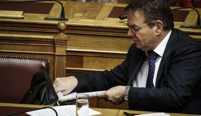 Συζήτηση επίκαιρων ερωτήσεων στη Βουλή σήμερα Πέμπτη 9 Νοεμβρίου 2017(EUROKINISSI//Γιώργος Κονταρίνης)