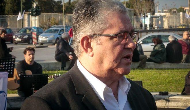 Ο Γ.Γ της ΚΕ του ΚΚΕ Δημήτρης Κουτσούμπας