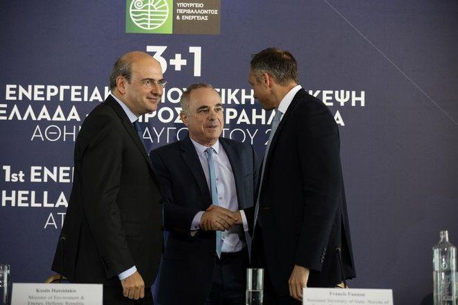 Πρώτη διυπουργική Ενεργειακή διάσκεψη Ελλάδας/ Ισραήλ/ Κύπρου και ΗΠΑ στο ξενοδοχείο Χίλτον. Τετάρτη 7 Αυγούστου 2019.