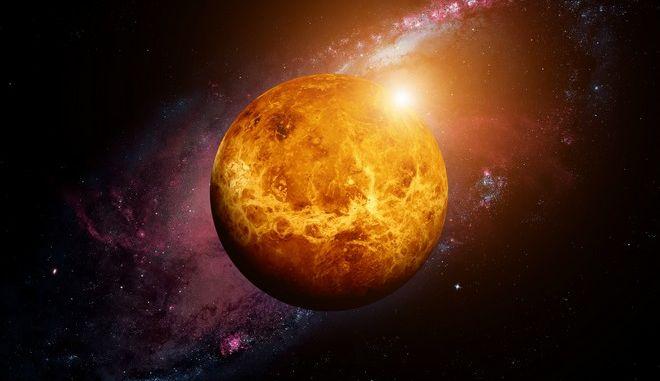 Ο πλανήτης της Αφροδίτης