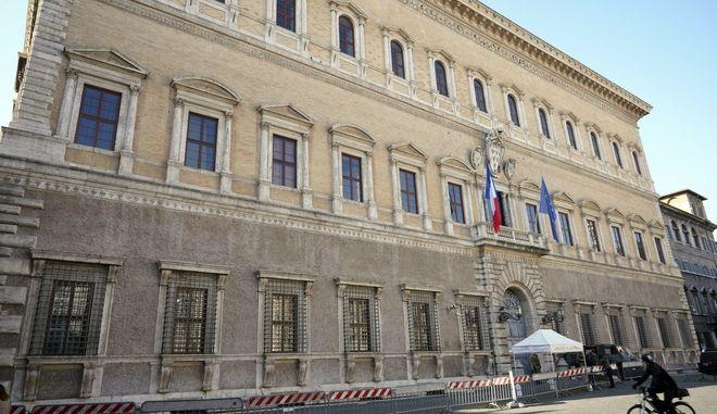 Το κτίριο της Γαλλικής πρεσβείας