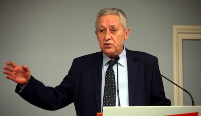 Συνεδρίαση της νέας Κεντρικής Επιτροπής της Δημοκρατικής Αριστεράς,ΔΗΜΑΡ σήμερα Σάββατο 11 Ιανουαρίου, για την εκλογή Εκτελεστικής Επιτροπής και Γραμματέα του κόμματος. Οι εργασίες άναιξαν με εισηγητική ομιλία του προέδρου της ΔΗΜΑΡ, Φώτη Κουβέλη.(EUROKINISSI-ΑΛΕΞΑΝΔΡΟΣ ΖΩΝΤΑΝΟΣ)