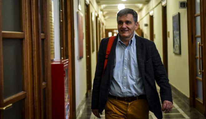 O υπουργός Οικονομικών, Ευκλείδης Τσακαλώτος