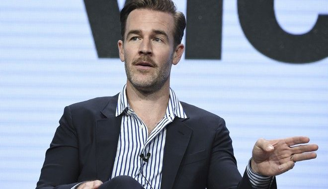 James Van Der Beek attends the