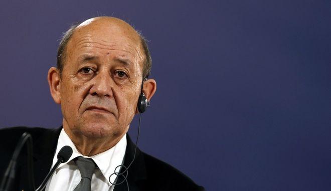 Ο Γάλλος υπουργός Εξωτερικών Ζαν Ιβ Λεντριάν