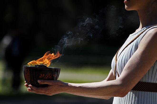 Ξεκίνησε το ταξίδι της Ολυμπιακής φλόγας προς το Τόκιο