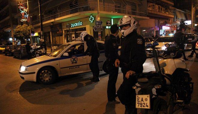 Από το σημείο της δολοφονίας των δύο αστυνομικών, τον Μάρτιο του 2011.