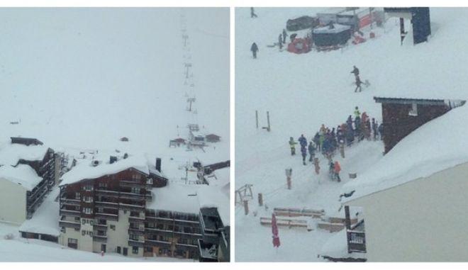 Χιονοστιβάδα 'χτύπησε' χιονοδρομικό στις Άλπεις
