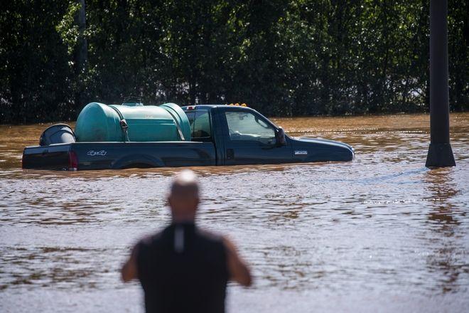 Πλημμυρές σε Νέα Υοόρκη και Νιου Τζέρσει.