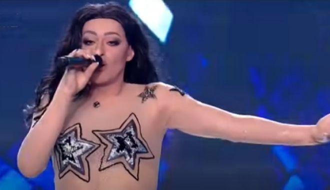 YFSF: Ο Θανάσης Αλευράς έκανε την Ελένη Φουρέιρα στην Eurovision και το κοινό ήθελε κι άλλο