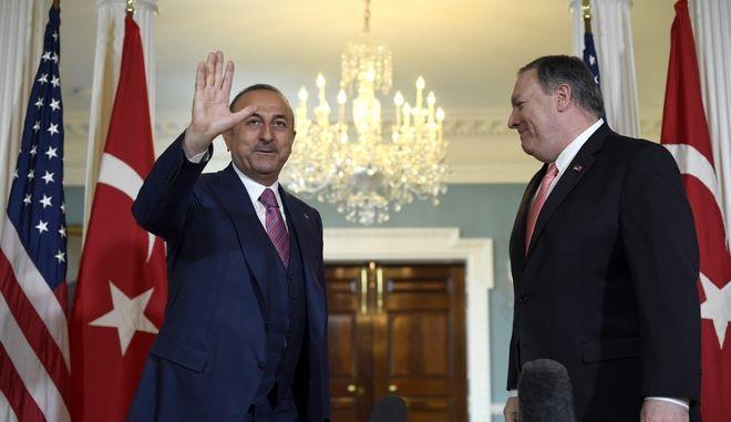 Στην πρόσφατη συνάντηση των ΥΠΕΞ ΗΠΑ-Τουρκίας στην Ουάσινγκτον