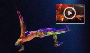Cirque du soleil: Βίντεο ντοκουμέντο τη στιγμή της θανάσιμης πτώσης ακροβάτη