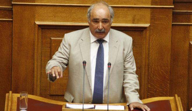 Ο βουλευτής Μάρκος Μπόλαρης