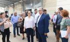 Επίσκεψη του Γ.Γ του ΚΚΕ Δημήτρη Κουτσούμπα στην Χίο.Επισκέφθηκε το ΚΥΤ Χίου (ΒΙΑΛ) και συναντήθηκε με τον Δήμαρχο Σταμάτη Κάρμαντζη, Πέμπτη 17 Οκτωβρίου 2019 (EUROKINISSI/ΜΑΝΩΛΗΣ ΠΑΚΙΑΣ)