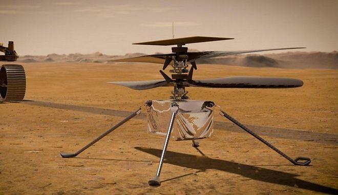 Αποστολή Mars 2020: Το πρώτο drone της NASA που θα πετάξει σε άλλο πλανήτη