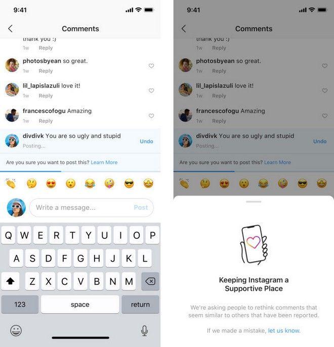 Instagram: Νέα εργαλεία κατά των κακοπροαίρετων σχολίων και του bullying