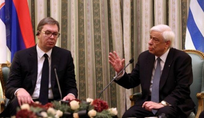 """Παυλόπουλος: """"Η Ελλάδα θα υπερασπιστεί τα σύνορα, το έδαφος και την ΑΟΖ της"""""""