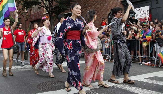 Στιγμιότυπο από Gay Pride στηνΙαπωνία, 2011