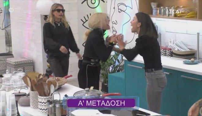Big Brother: Μεγάλος καβγάς ανάμεσα σε Άννα Μαρία και Ραΐσα- Η παρέμβαση του BB για τη λεκτική βία
