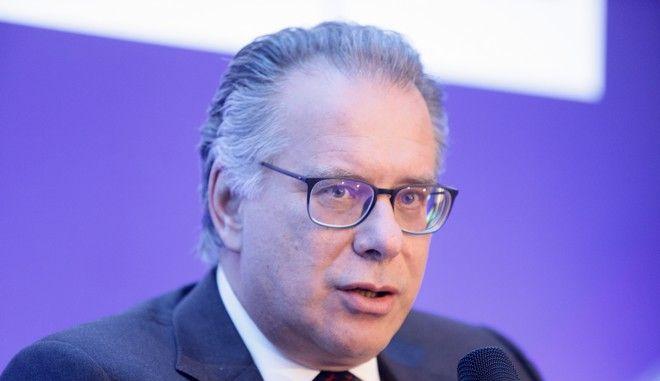 Ο αναπληρωτής υπουργός Προστασίας του Πολίτη Γιώργος Κουμουτσάκος