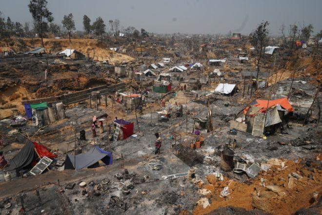 Η κραυγή των Ροχίνγκια: