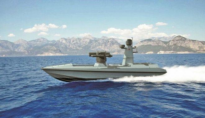 Τουρκία: Συνεχίζει την κούρσα εξοπλισμών με το πρώτο μη επανδρωμένο θαλάσσιο σκάφος