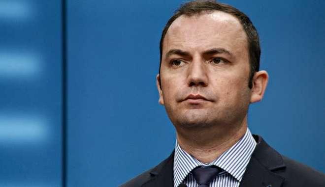 Ο Γενικός γραμματέας της κυβέρνησης των Σκοπίων, αναπληρωτής πρωθυπουργός, υπεύθυνος για θέματα εξωτερικής πολιτικής Μπουγιάρ Οσμάνι