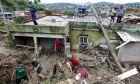 Κατολίσθηση από σφοδρή βροχόπτωση στην πολιτεία Μίνας Γκερές