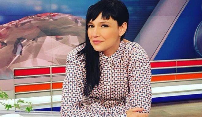 Η Αθηναΐς Νέγκα επιστρέφει στο τηλεοπτικό πλατό 11 μέρες μετά τον τοκετό