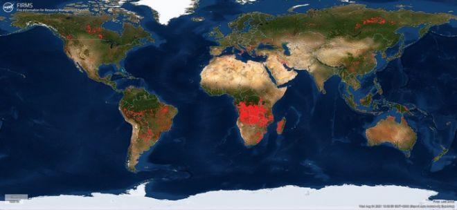 Ολόκληρος ο πλανήτης φλέγεται: Καταστροφικές πυρκαγιές από τις ΗΠΑ μέχρι την Αφρική