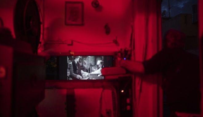 Στο εσωτερικό ενός κινηματογράφου