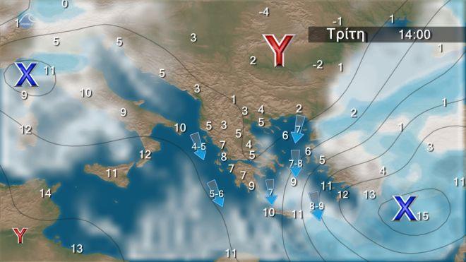 Καιρός: Πτώση δέκα βαθμούς τα Θεοφάνεια - Νέες χιονοπτώσεις και στην Αττική