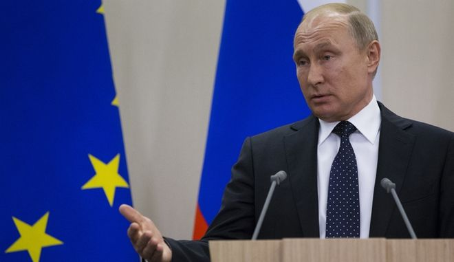 Ο πρόεδρος της Ρωσίας Βλάντιμιρ Πούτιν