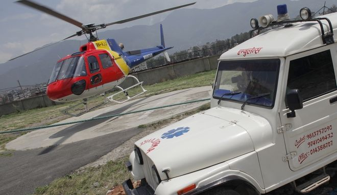 Ελικόπτερο διάσωσης στο Νεπάλ, Αρχείο