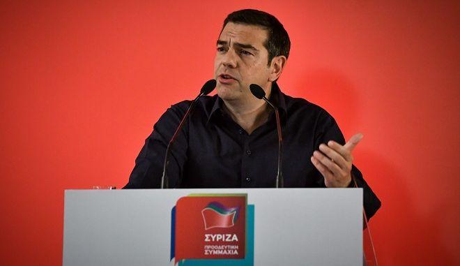 Ομιλία Αλέξη Τσίπρα σε στελέχη του ΣΥΡΙΖΑ