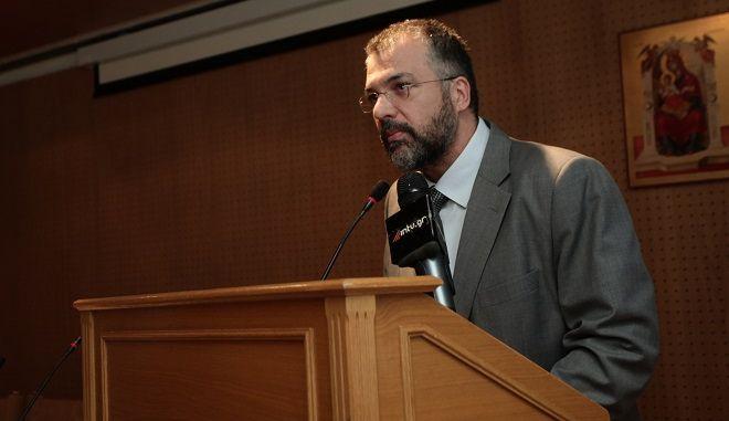 Ο γενικός γραμματέας Θρησκευμάτων Γιώργος Καλαντζής