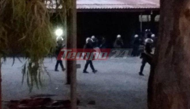 Επιχείρηση της αστυνομίας στην Πάτρα