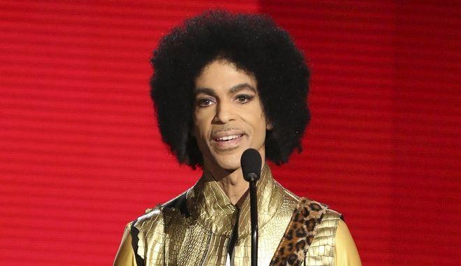 Ο τραγουδιστής Prince