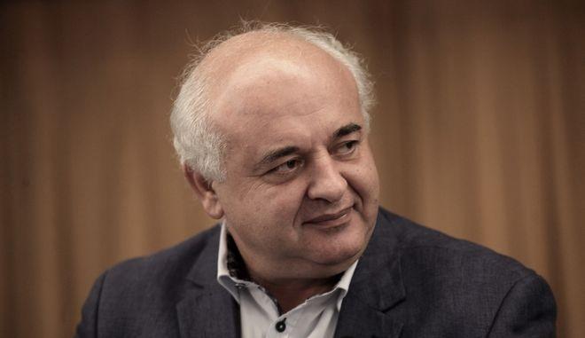 Ο Νίκος Καραθανασόπουλος
