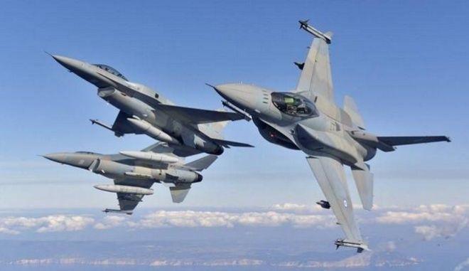 Τουρκικά αεροσκάφη παραβίασαν 36 φορές τον εθνικό εναέριο χώρο
