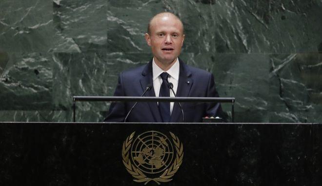 Ο Πρωθυπουργός της Μάλτας, Joseph Muscat