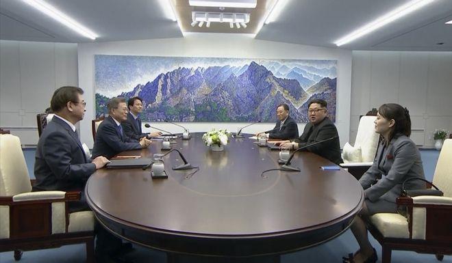Οι συζητήσεις μεταξύ των κορεατικών αντιπροσωπειών