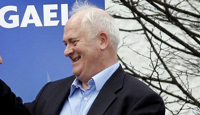 Ο πρώην πρωθυπουργός της Ιρλανδίας, John Bruton