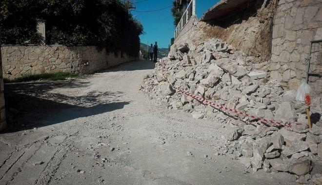 Φωτογραφία από τον τελευταίο σεισμό στη Ζάκυνθο