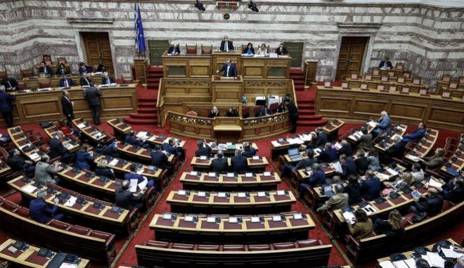 Συζήτηση στην Ολομέλεια της Βουλής