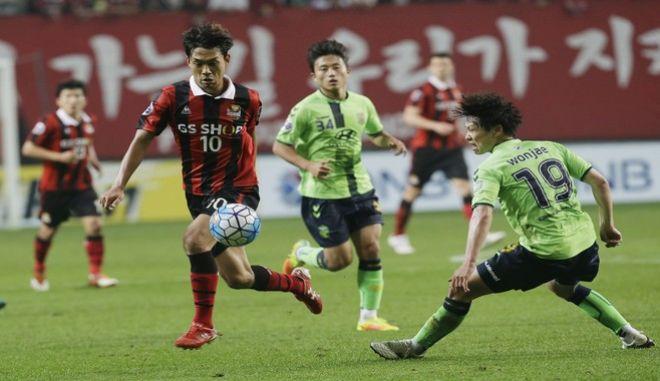 Ποδοσφαιρικός αγώνας της FC Seoul
